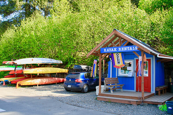 Auke Bay Rental Shop